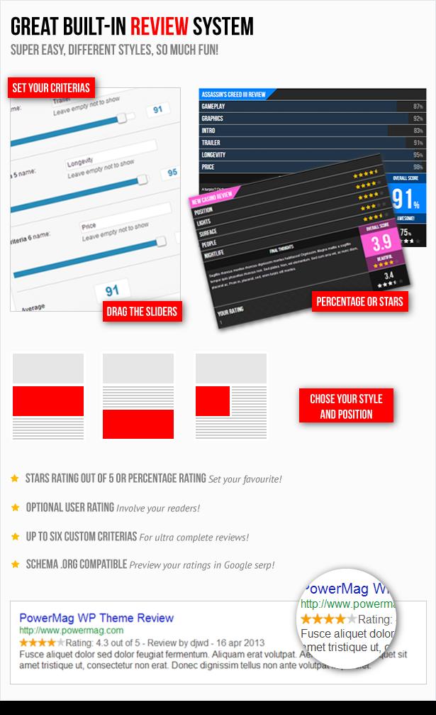 PowerMag: Bold Magazine and Reviews WordPress Theme - 10