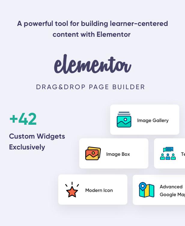 دورة التعلم عبر الإنترنت Elementor