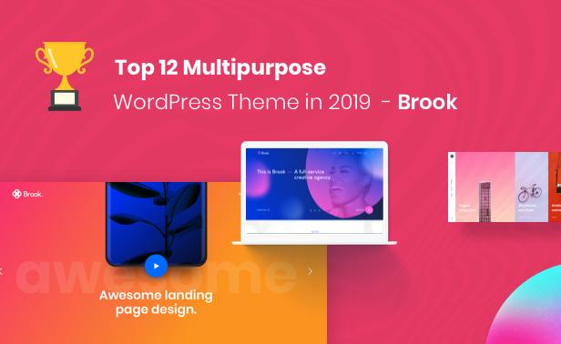 Brook - سمة WordPress الإبداعية لأعمال الوكالة - 4
