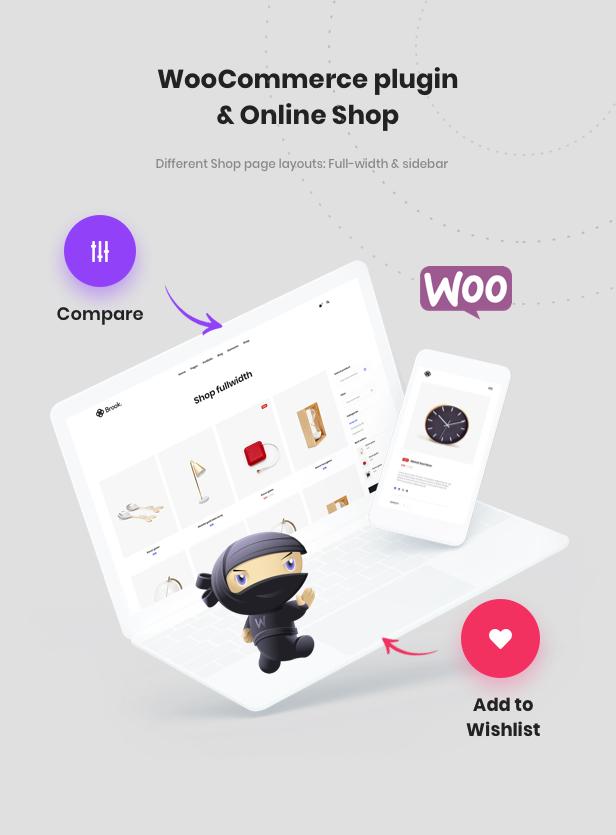 متجر جميل مع البرنامج المساعد WooCommerce
