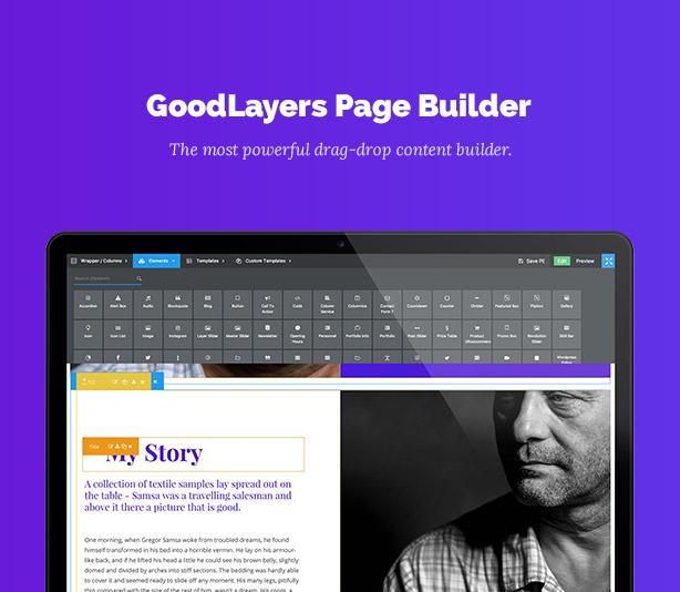 One Page Pro - سمة WordPress متعددة الأغراض ذات صفحة واحدة - 3