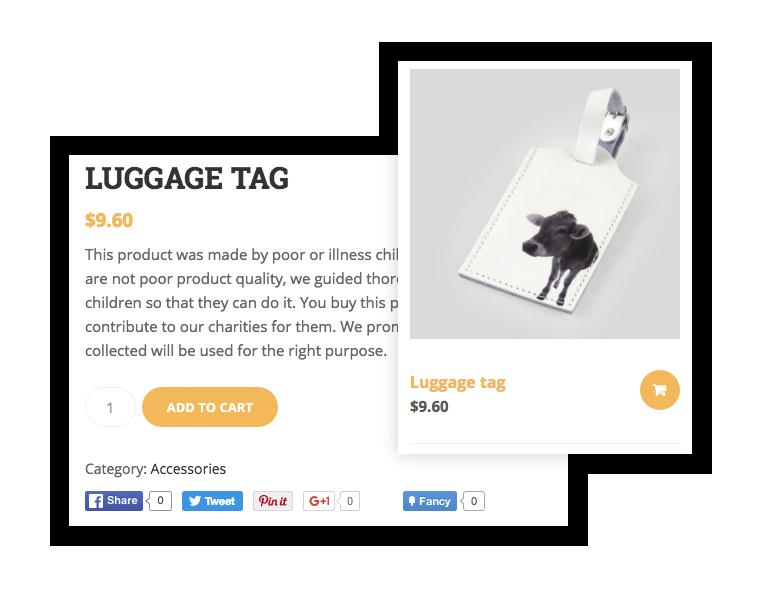 سمة WordPress الخيرية مع دعم WooCommerce