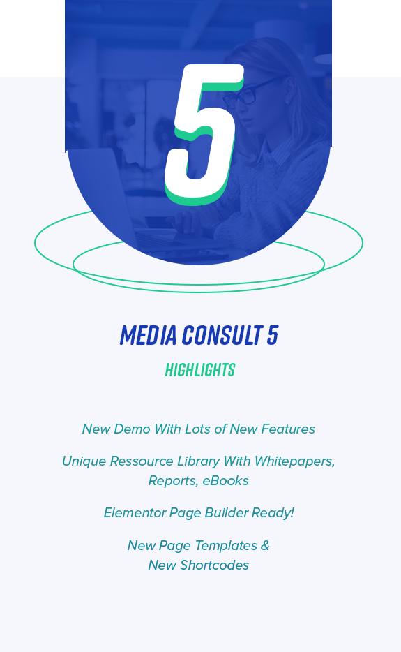 5.0 إضاءات استشارة وسائل الإعلام