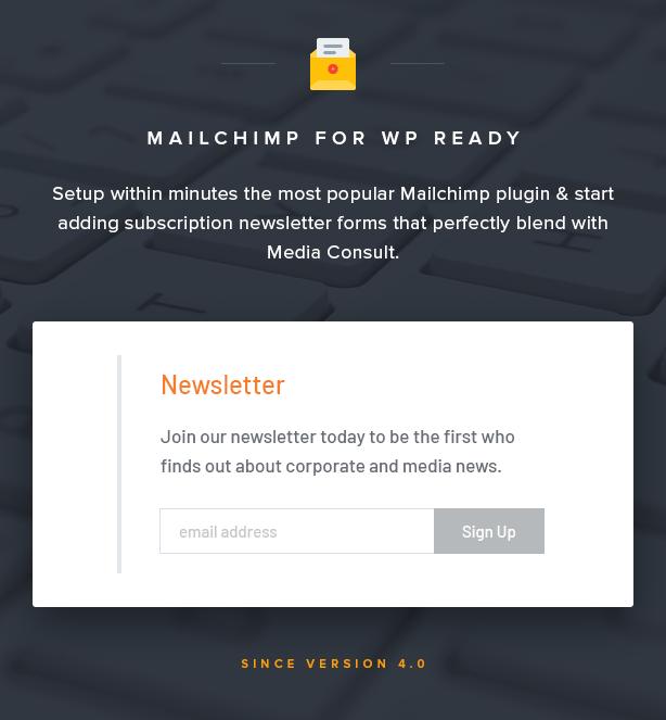 النشرة الإخبارية Mailchimp