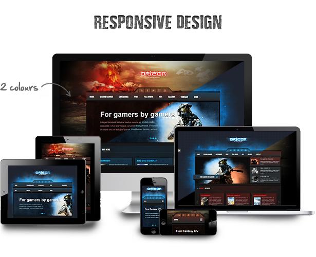 أوريزون - نسخة WP Template للألعاب - 6