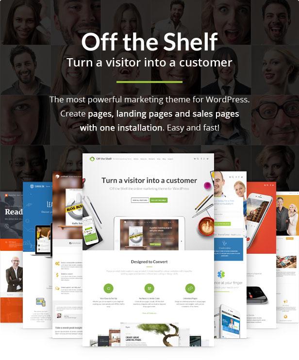 خارج الرفوف موضوع التسويق عبر الإنترنت - الصفحات المقصودة ، والتسويق عبر الإنترنت ، والصفحات المقصودة للمنتج