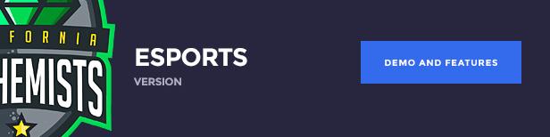 The Alchemists WordPress Theme - نسخة الرياضات الإلكترونية