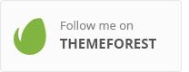 اتبعني على Themeforest