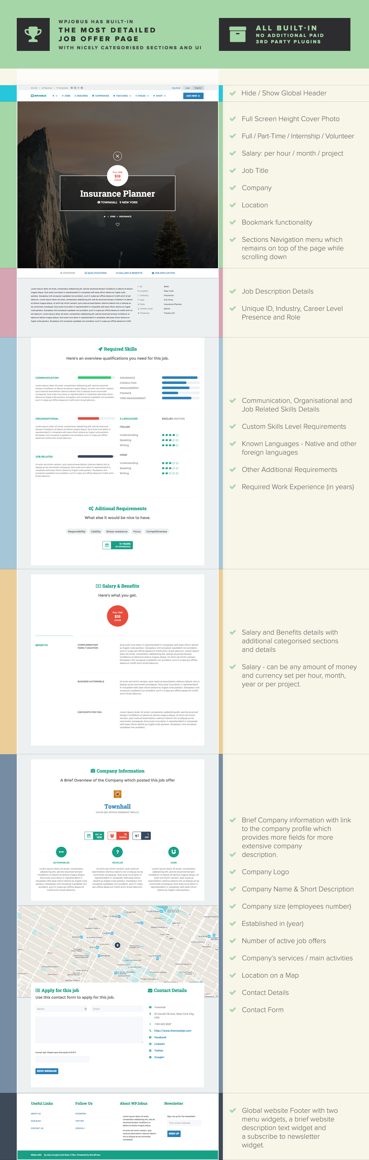 WPJobus - لوحة الوظائف والسير الذاتية لموضوع WordPress - 6