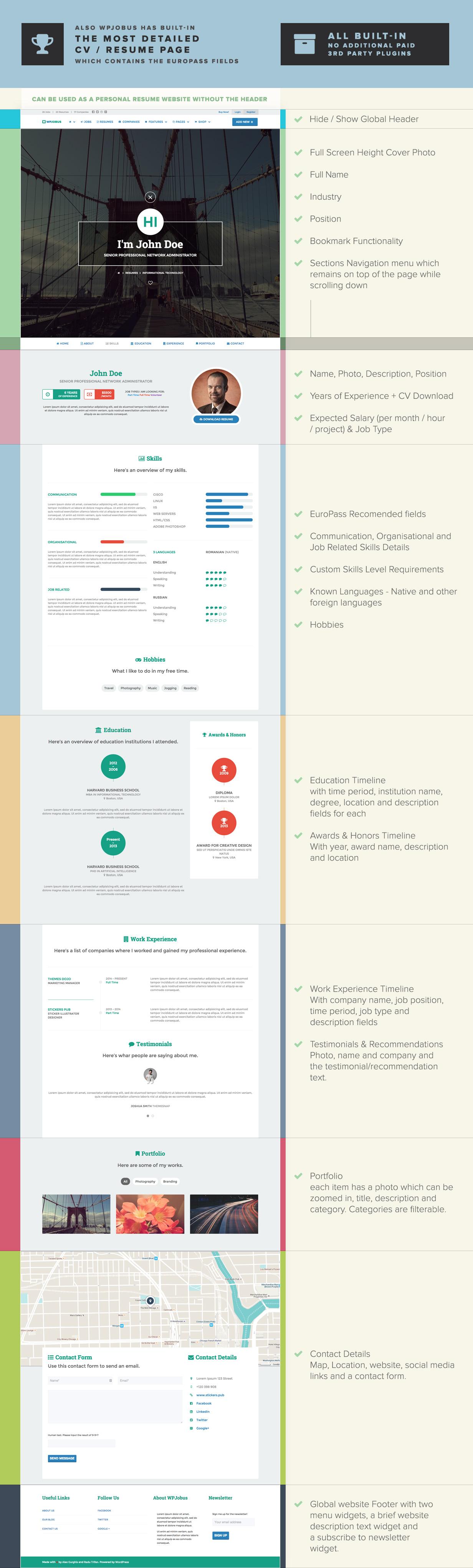 WPJobus - لوحة الوظائف والسير الذاتية لموضوع WordPress - 8