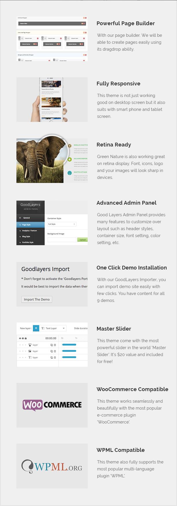الطبيعة الخضراء - البيئة / WordPress غير الربحية - 2