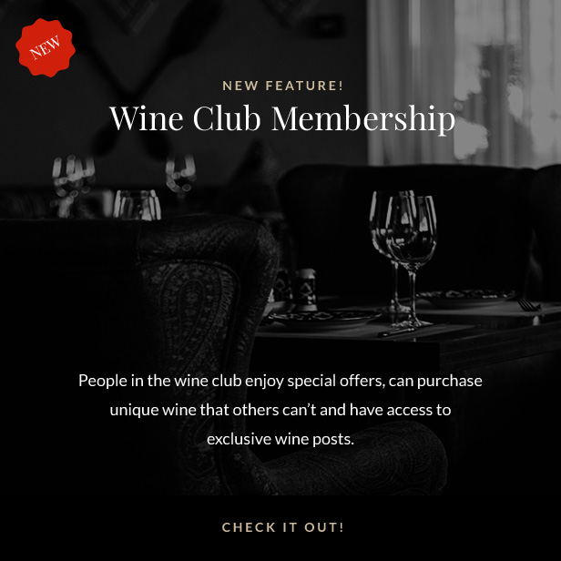 Villenoir - Vineyard، Winery & Wine Shop ميزات جديدة