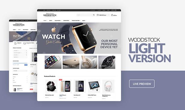 Woodstock - سمة WooCommerce لمتجر الإلكترونيات - 4