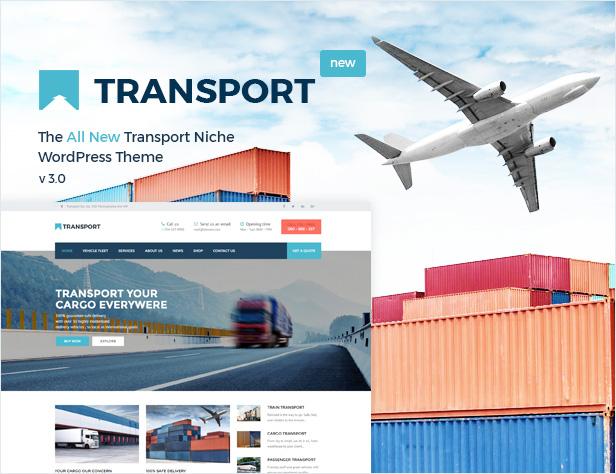 النقل - WP Transportation & Logistic Theme - 1