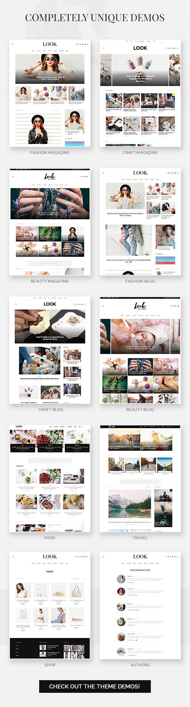 انظر: Minimal Magazine and Blog WordPress Theme - 3