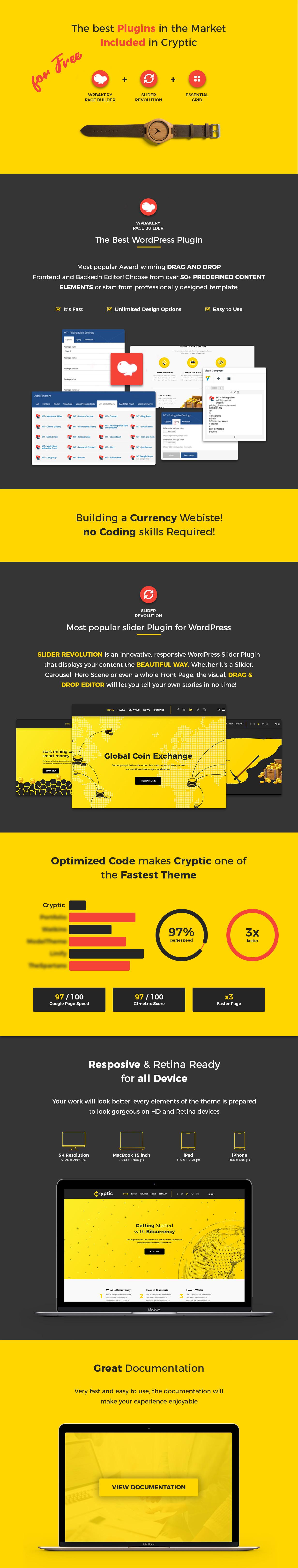 Cryptic - Cryptocurrency WordPress Theme - 7