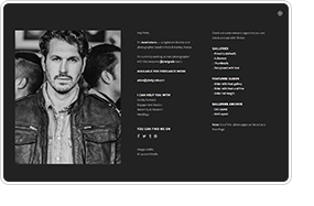 TIMBER - سمة WordPress للتصوير الفوتوغرافي غير عادية - 10