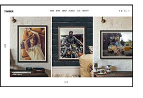 TIMBER - سمة WordPress للتصوير الفوتوغرافي غير عادية - 5