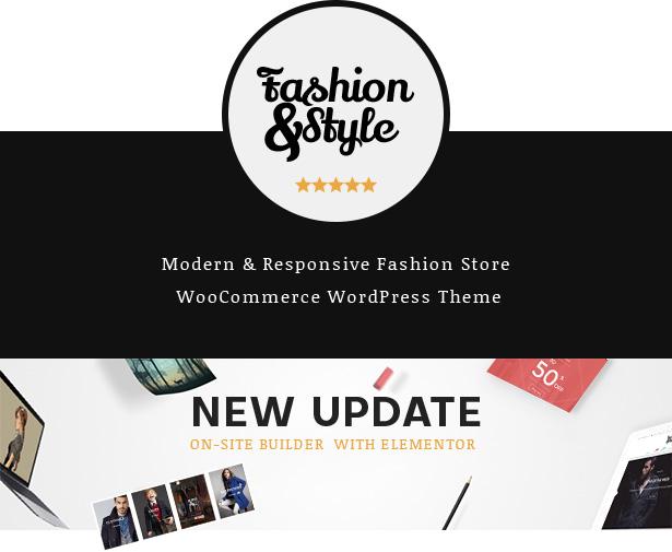 أفضل سمة WordPress للأزياء والملابس للتجارة الإلكترونية لعام 2019