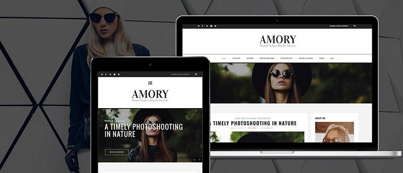أموري - سمة مدونة ووردبريس متجاوبة - 5