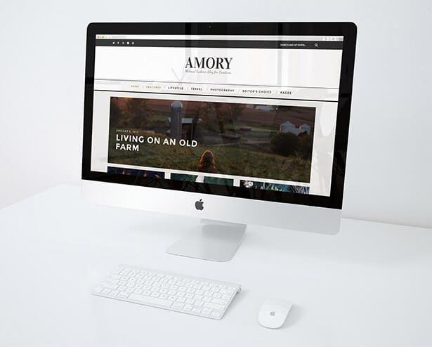 أموري - سمة مدونة ووردبريس متجاوبة - 6