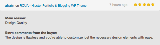 ROUA - موضوع Hipster Portfolio & Blogging WP - 6