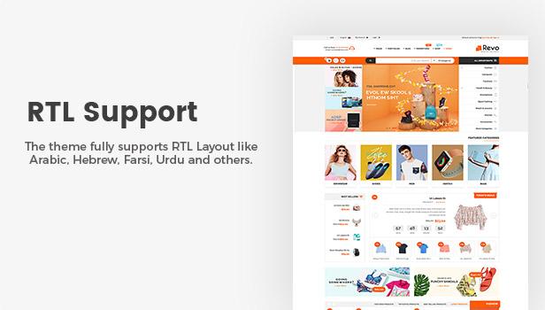 دعم RTL