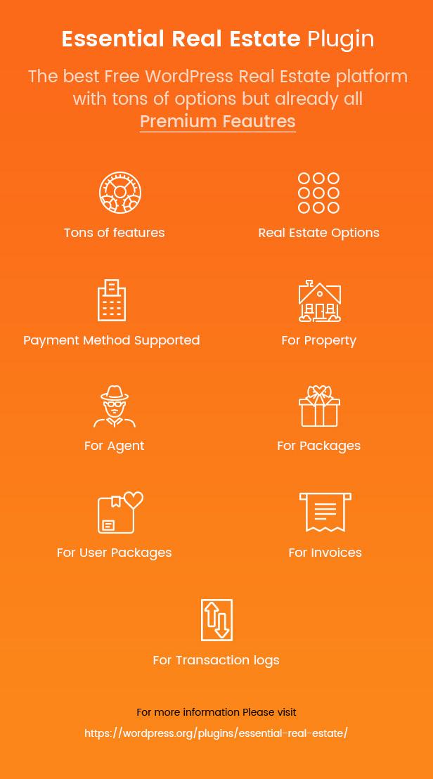 انقر لتنزيل المكونات الإضافية Essential Real Estate