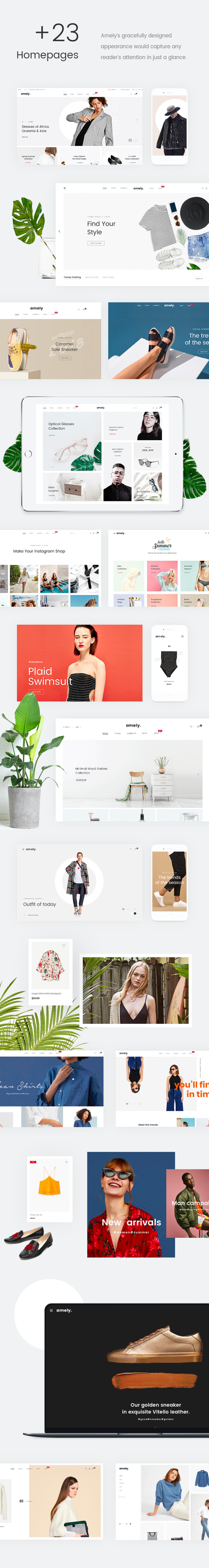 Fashion WooCommerce WordPress Theme - 18+ الصفحة الرئيسية