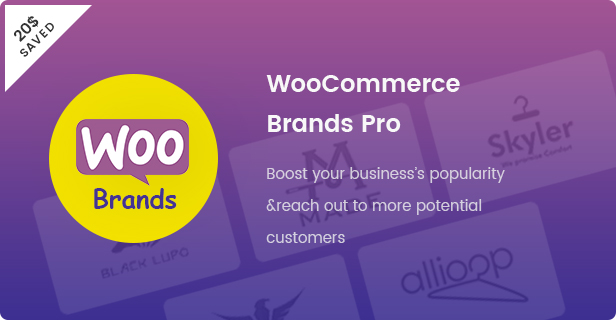 Fashion WooCommerce WordPress Theme - Woo Brand Plugins - $ 20
