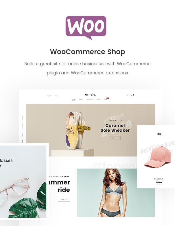 Fashion WooCommerce WordPress Theme - WooCommerce Shop