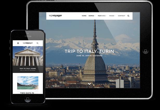 WPVoyager - سمة WordPress لمدونة السفر - 8