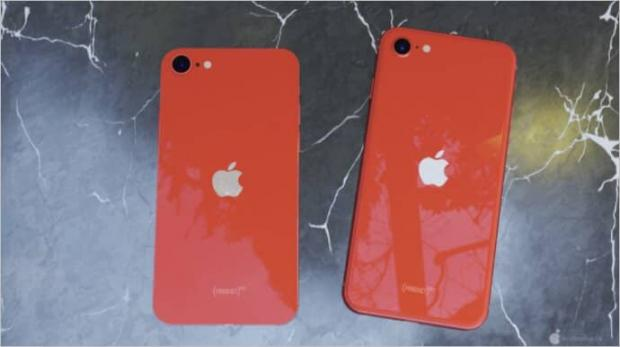 الاداءات مفهوم iPhone SE الجديد