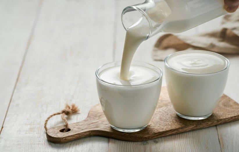 تنظيف بقع الحليب