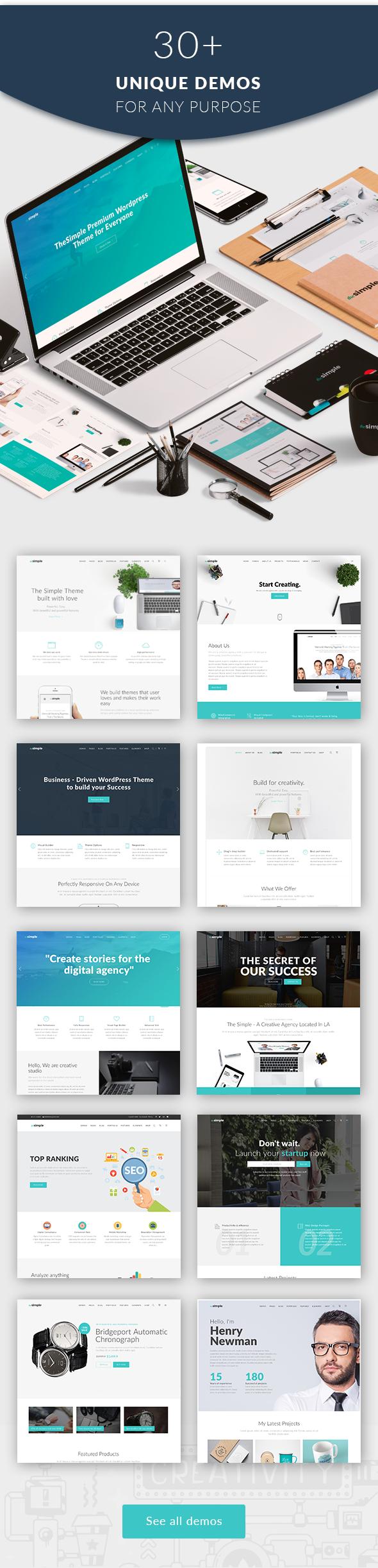 The Simple - Business WordPress Theme - 5