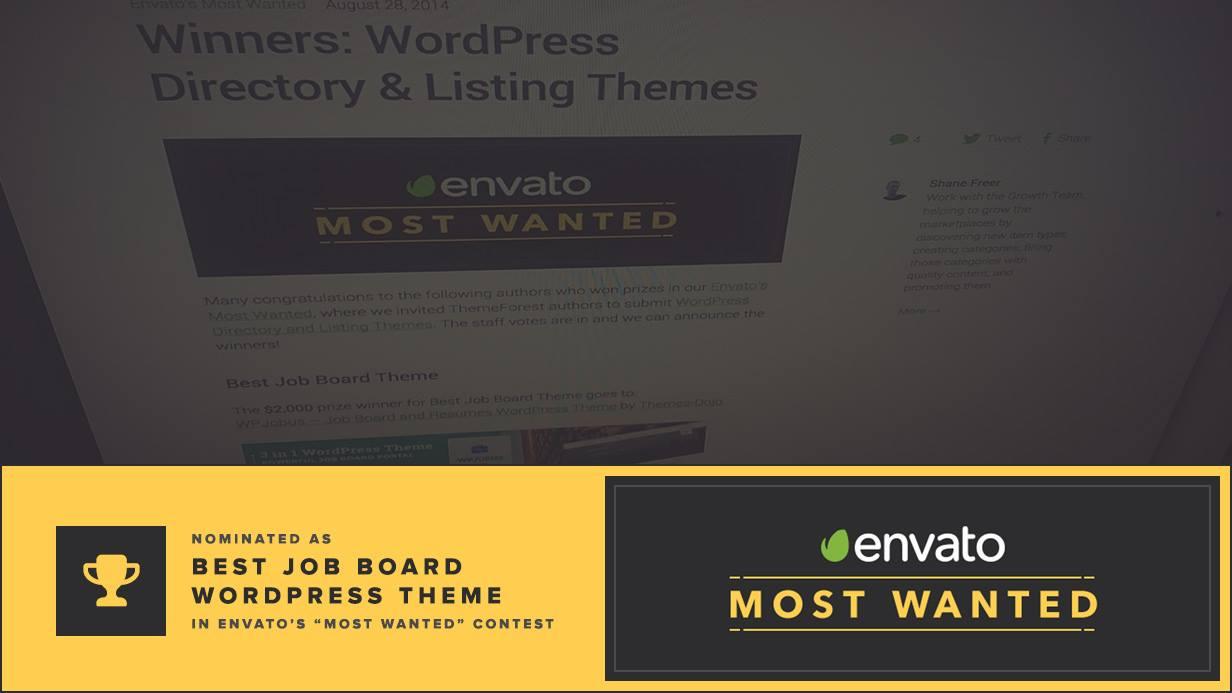 WPJobus - لوحة الوظائف والسير الذاتية لموضوع WordPress - 1