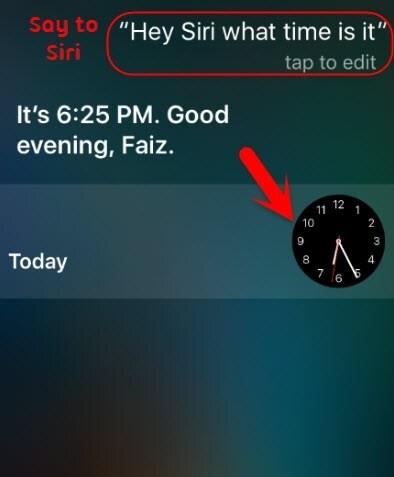 أعط Siri الأمر