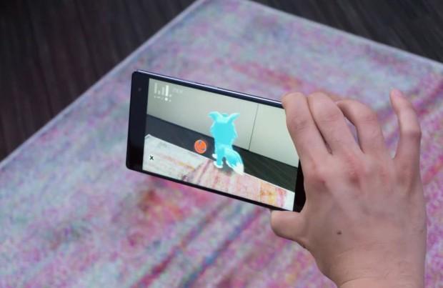 مشروع Google Tango ولعبة pokemon-go