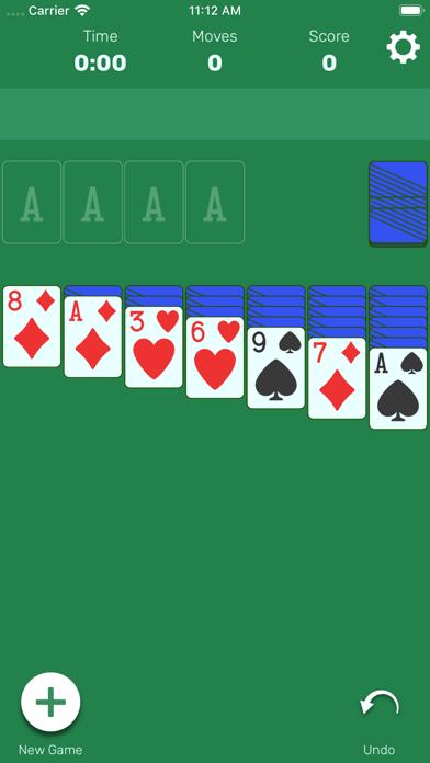 سوليتير لعبة ورق كلاسيكية أكو وب