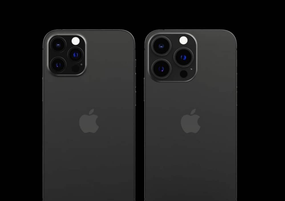 الاداءات مفهوم iPhone 13 Pro