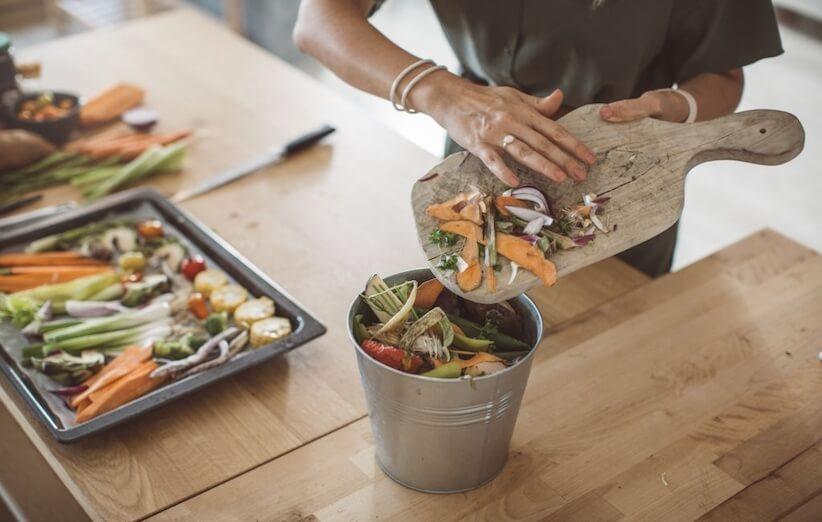 إنتاج السماد - حفظ نفايات الطعام