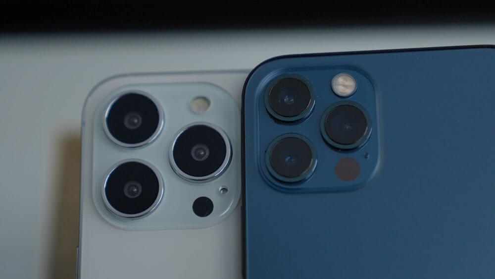مقارنة بين كاميرا iPhone 12 Pro وكاميرا iPhone 13 Pro