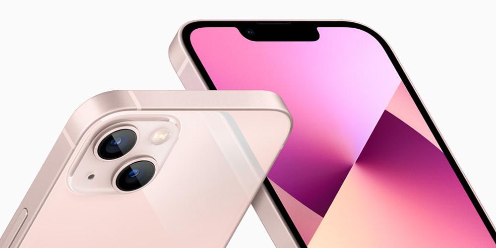 تصميم وكاميرا Apple iPhone 13
