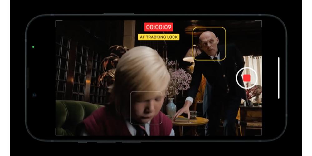 تسجيل مقاطع الفيديو على iPhone 13