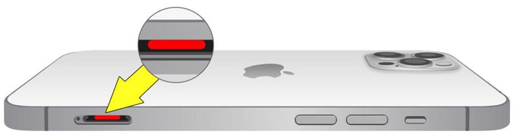 علامات التآكل على iPhone 12 Pro Max