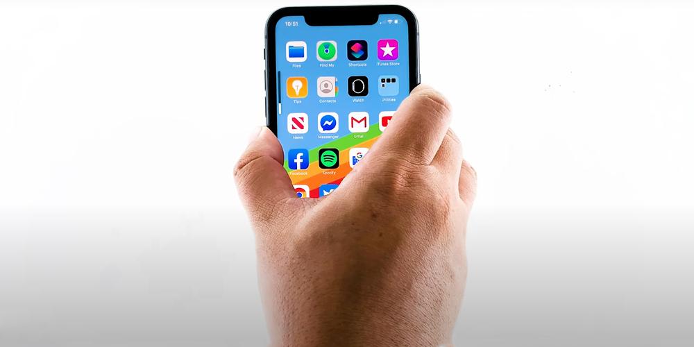 إعادة تعيين iPhone XR