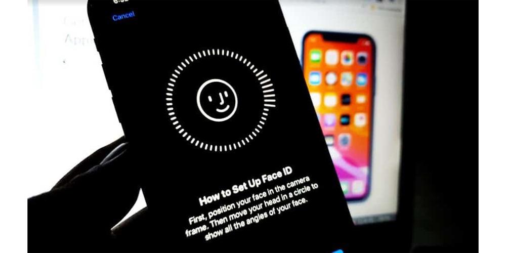 قم بتشغيل Face ID في iPhone XR