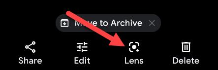 تمكين Google Lens