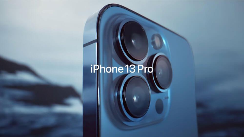 كاميرا iPhone 13 Pro و iPhone 13 Pro Max